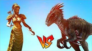 Ark Survival - MEDUSA vs ALPHA RAPTOR and more [Ep.85]