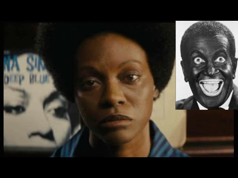 "Black Twitter SLAMS  Zoe Saldana for portraying Nina Simone in ""black face"""