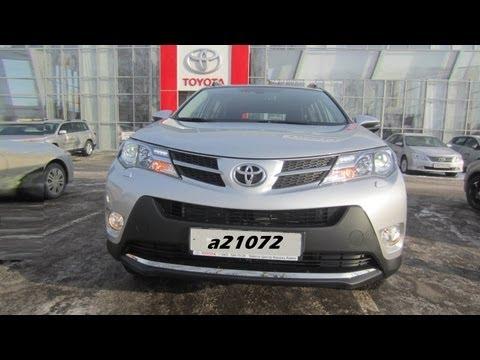 Toyota Rav4 2013 Тест-драйв. Anton Avtoman