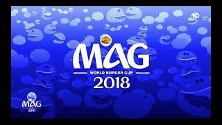 World Burger Cup 2018 - Le Mag avec Denis Brogniart, Youri Djorkaeff et Nathalie Iannetta
