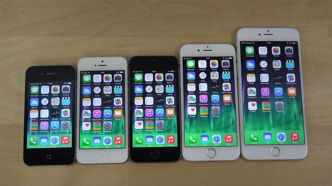 Ios 8 Для Iphone 5 S