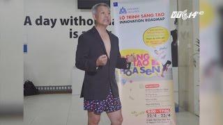 """(VTC14)_Giáo sư """"mặc quần đùi lên giảng đường"""" nói về tư duy thách thức mọi giới hạn"""