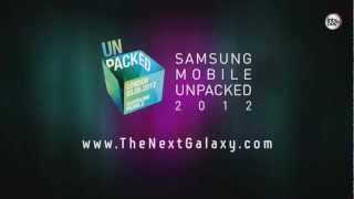 THE NEXT GALAXY, SAMSUNG UNPACKED, 3 MAYO 2012 - ANDROID ACTUAL 4
