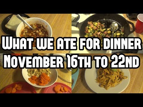 What's For Dinner? || Family Meal Ideas