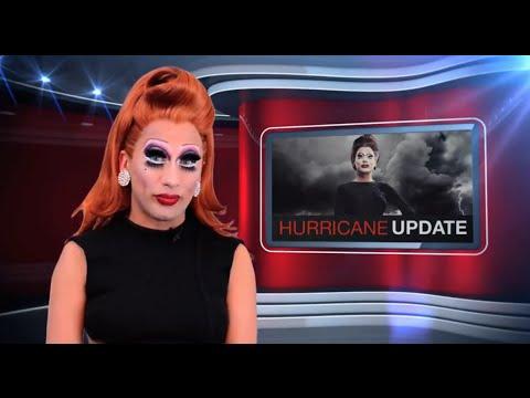 Bianca Del Rio's Hurricane Tracking Report