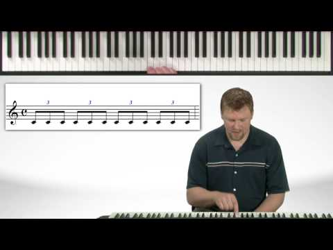Note Value Exercise - Piano Lessons Exercises
