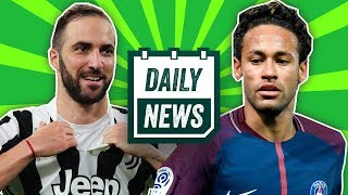 TRANSFER NEWS: Neymar and Higuain updates + Donald Trump FC?!  ► Daily Football News