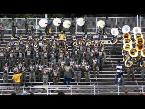 Whitehaven High School Marching Band - Push Up On It - 2014