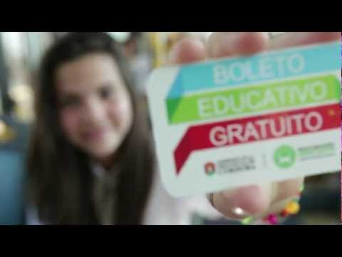 Boleto Educativo Gratuito