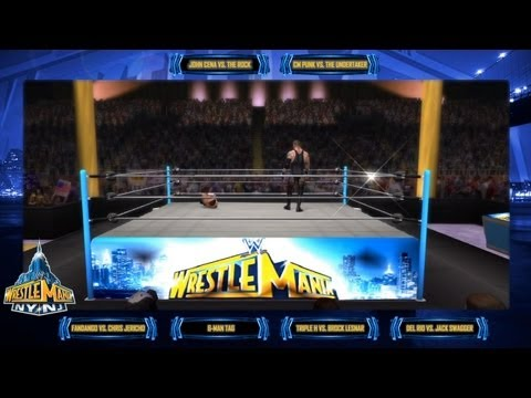 (WWE '13 / Machinima) Smacktalks' WrestleMania 29 Preview / Predictions!
