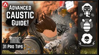 31 Pro Tips Advanced Apex Caustic Guide! Everything You Need To Know! Apex Legends