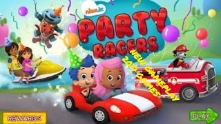 Watch New # Dora # the Explorer @ Party Racers Games play Bubble Guppies Wallykazam & The Paw Patrol