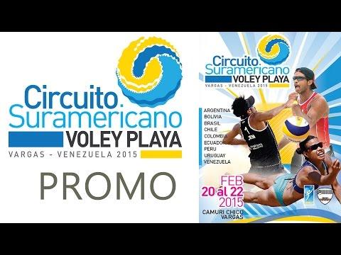 Venezuela recibirá al Circuito Sudamericano - Vóley Playa (VÍDEO)