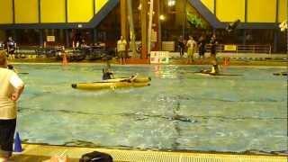 Canoe Polo charge start. Jukin Media Verified (Original), permission: licensing(at)jukinmediadotcom