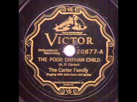 The Carter Family The Poor Orphan Child VICTOR 20877