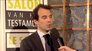 Interview Angelo Simonazzi salon du Testament 2012