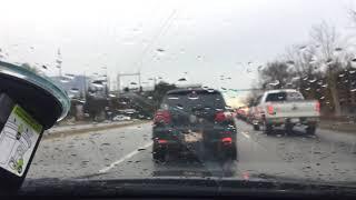Car in fender bender