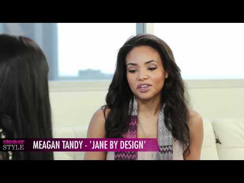 Meagan Tandy In Studio Talks TV Show Jane By Design ABC Family