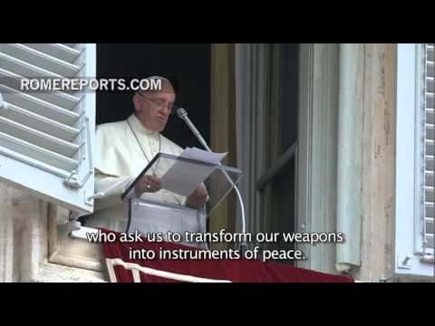 Pope: Pray for peace between Israel and Palestine