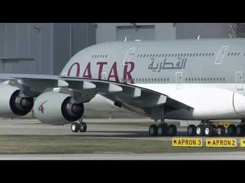 First QATAR Airways A380-861 F-WWST, MSN 137 in Final Painting Design