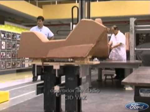 Como nasce um carro (Ford Camaçari Bahia) / How to build a car...
