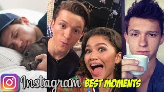 Spider-Man Tom Holland's Funniest Instagram Stories and Edits - Snapchat Moments 2018