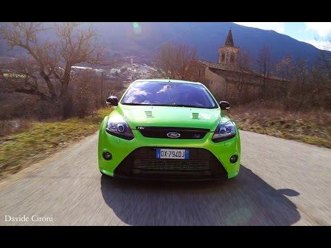 Pure sound Ford Focus RS mkII - Inserito da Davide Cironi il 02 marzo 2015 durata 2 minuti e 02 secondi - 380 cv sono utili quando la troupe � molto lontana e il tempo per le riprese sta finendo.