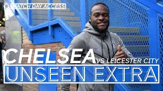 Tunnel Access | Chelsea vs Leicester