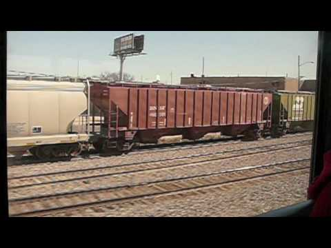 421 Texas Eagle. Chasing a freight out of Fort Worth Texas on a an Amtrak - Texas Eagle #21. Chasing a freight out of Fort Worth Texas on a an Amtrak - Texas Eagle #21