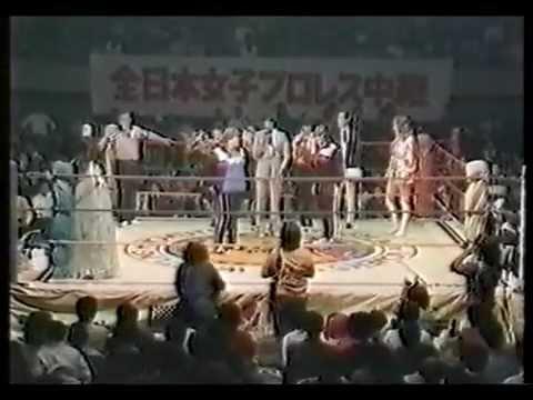 Mimi Hagiwara vs. Judy Martin���ߥ��븶 vs ����ǥ����ޡ����� (1982)  Part1