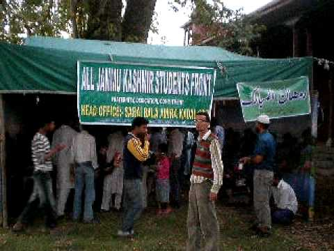 AJKSF Iftaar Point Part 1st