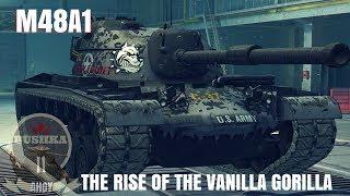 M48 Patton Tier X Mastery Series World of Tanks Blitz