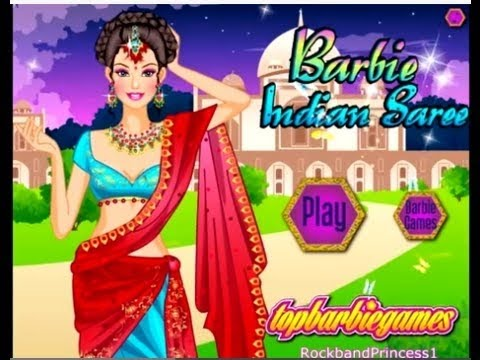 Download indian sari barbie dressup girls games hd youtube video
