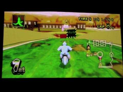 Mario Kart Wii DS Peach Gardens Texture Hack
