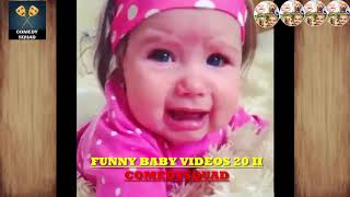 FUNNY BABY VIDEOS 20 II COMEDYSQUAD