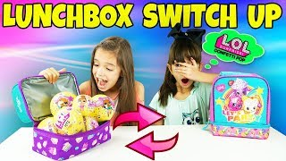 The LUNCHBOX SWITCH UP Challenge! LOL Surprise Confetti Pop