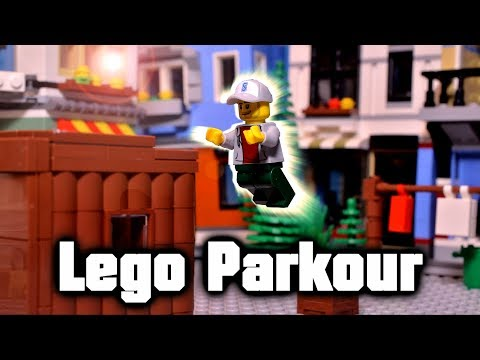 LEGO Parkour | Stop Motion Animation