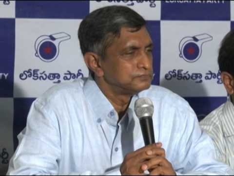 Dr.JP Greets Telangana People on State Formation