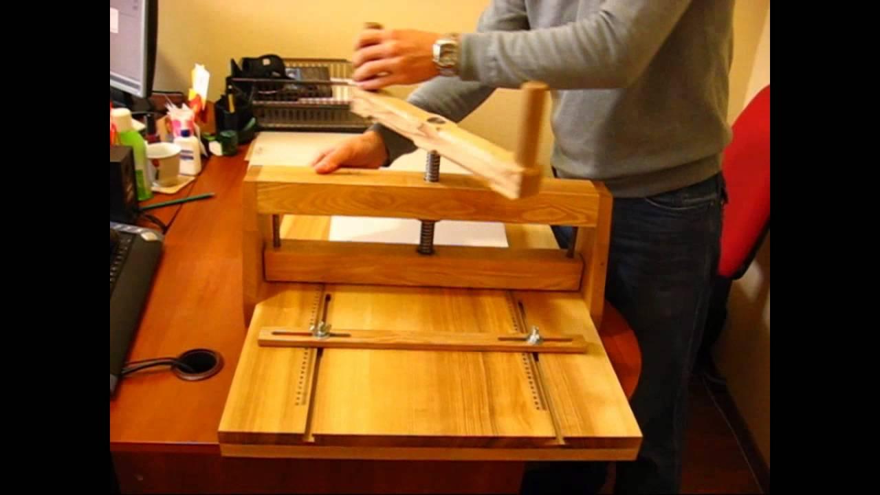 Как сделать биговку в домашних условиях