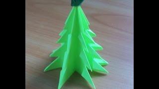Поделки к Новому Году из Бумаги. Как Сделать Елку Своими Руками за 6 минут. Christmas Tree