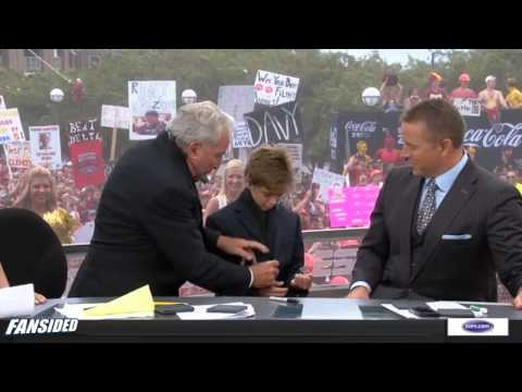 Clemson vs Florida State: Lee Corso's headgear pick