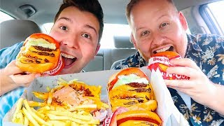In-N-Out Burger With My New Boyfriend • MUKBANG