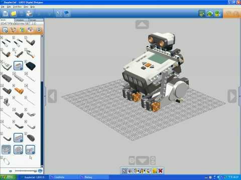 LEGO DIGITAL DESIGNER FOR LEGO MINDSTORMS NXT 8547