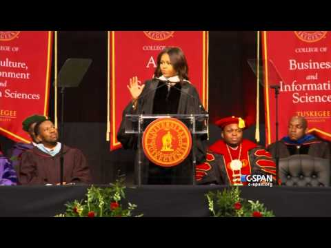 First Lady Michelle Obama Tuskegee University Commencement Address (C-SPAN)