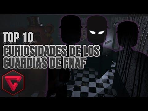 TOP 10 CURIOSIDADES DE LOS GUARDIAS DE SEGURIDAD en Five Nights at Freddy's 1 y 2 - FNAF & FNAF 2