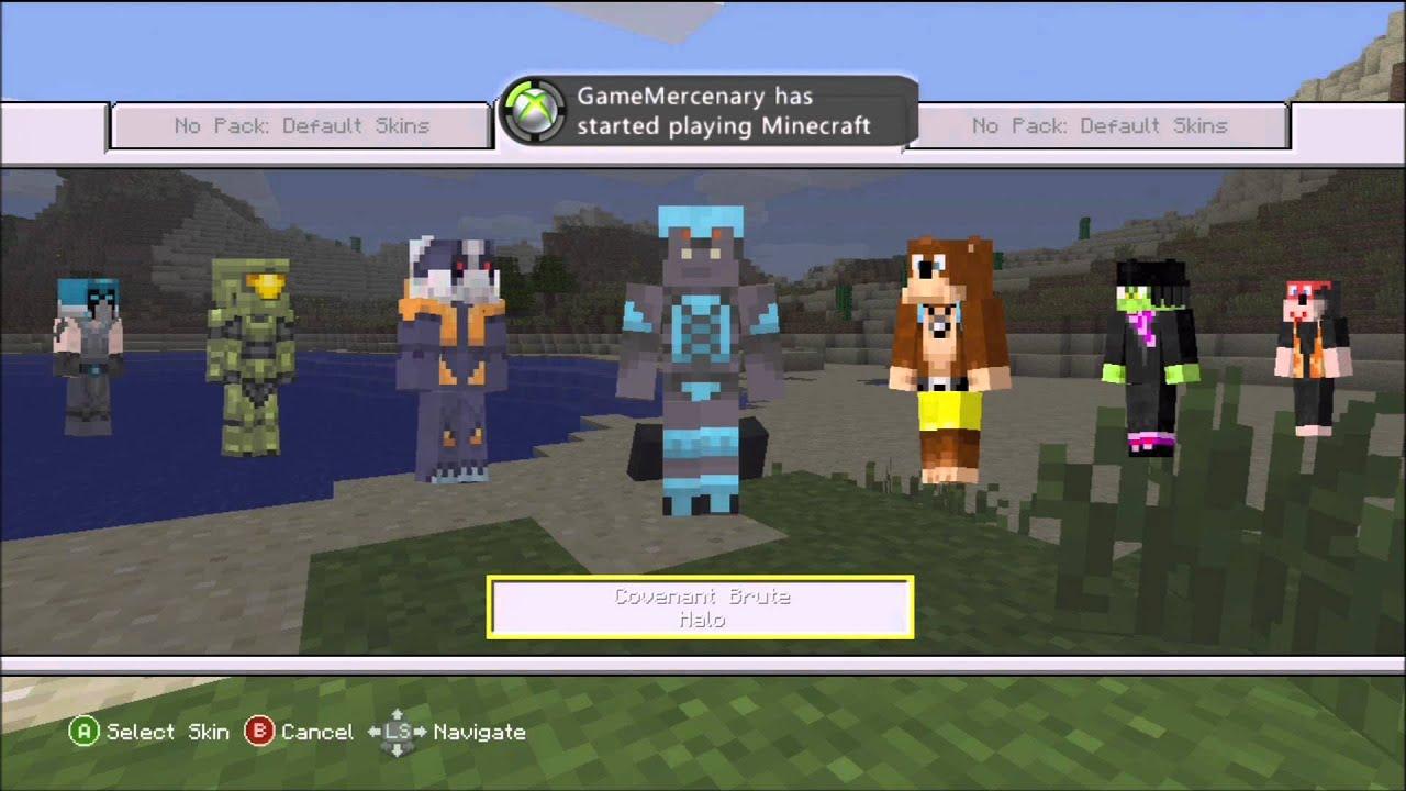 Xbox 360 Minecraft Default Skins Minecraft Xbox 360 Edi...