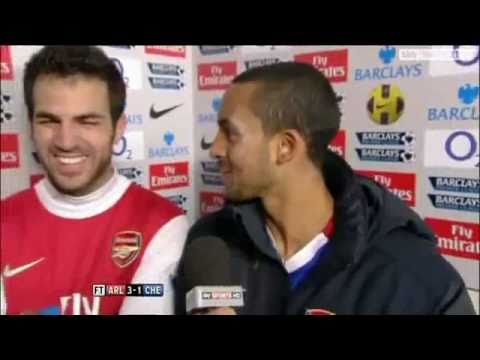 Theo Walcott's Fifa Joke After Defeating Chelsea