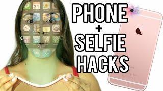 12 Phone & Selfie Hacks Everyone Should Know! NataliesOutlet