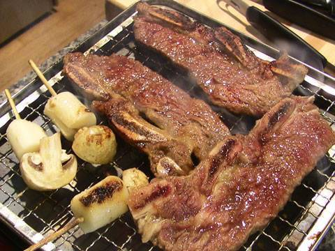 Korean beef barbecue (