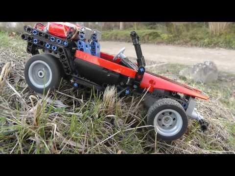 Lego Technik MiniCar 2 Vorschau mit 11,1V LiPo